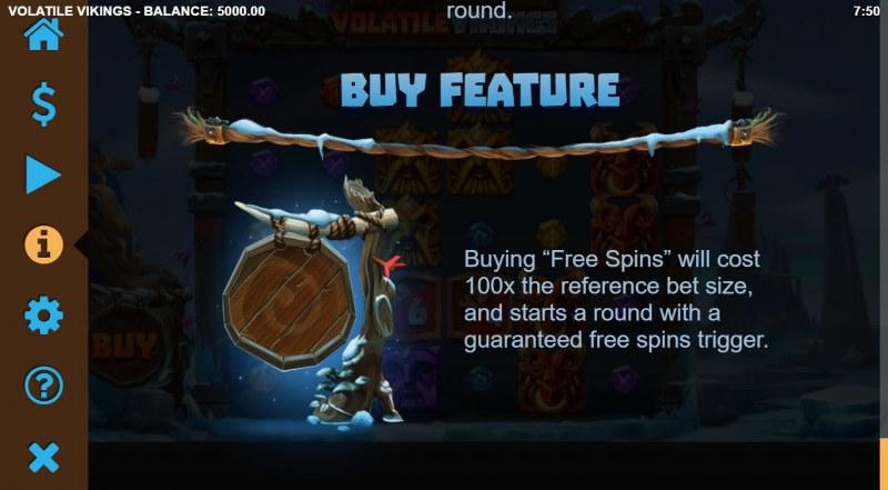 Volatile Vikings :: Buy Feature