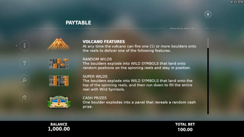 Volcano Deluxe :: Reel Modifiers