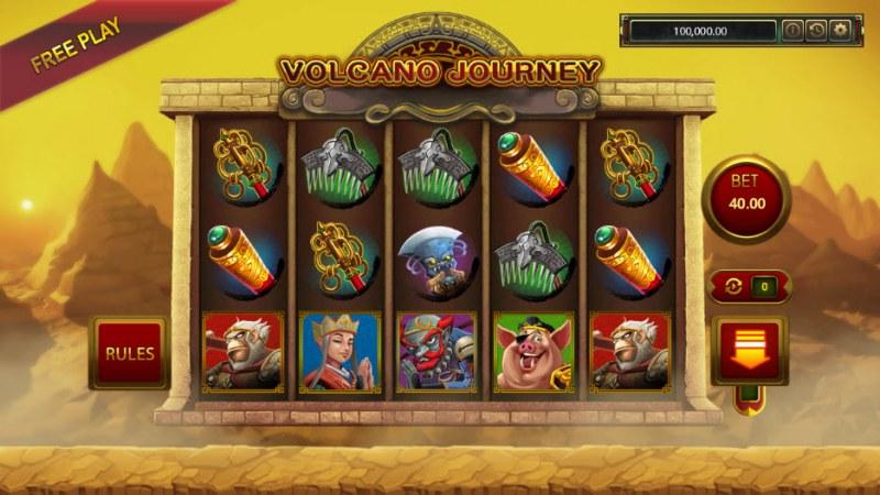 Volcano Journey :: Main Game Board