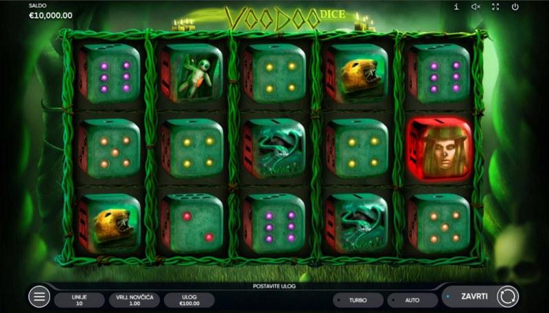 Voodoo Dice :: Base Game Screen