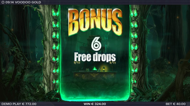 Voodoo Gold :: 6 Free Spins Awarded