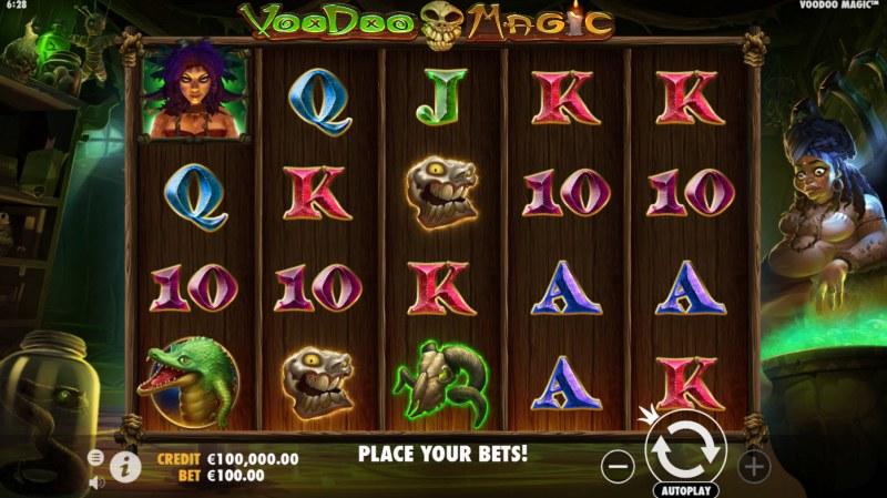 Voodoo Magic :: Main Game Board