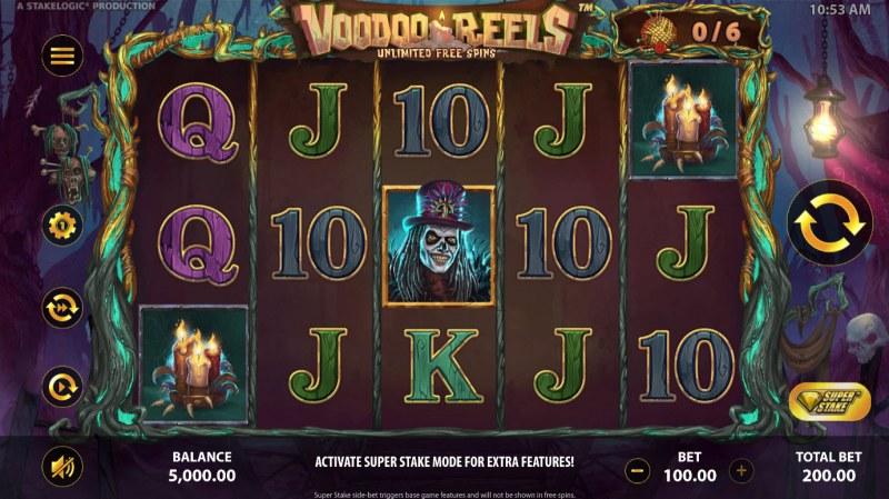 Voodoo Reels :: Main Game Board
