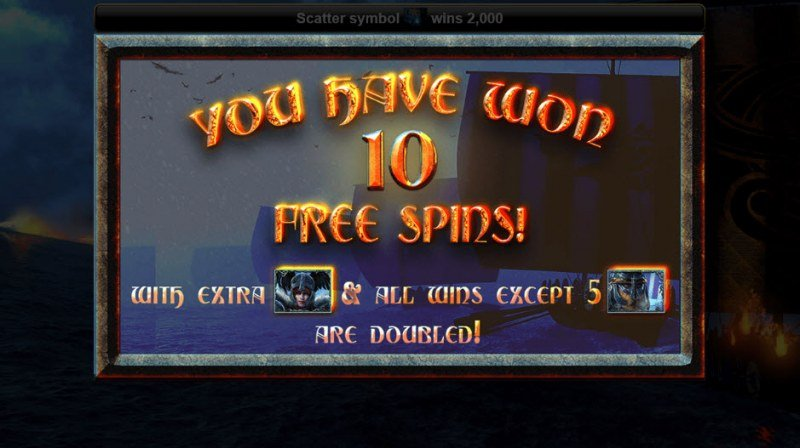 Voyage to Asgard :: 10 Free Spins Awarded