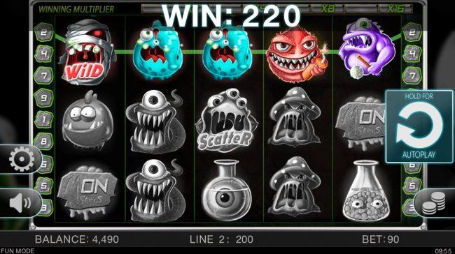 Wacky Monsters :: A winning three of a kind