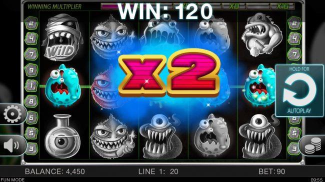 Wacky Monsters :: X2 Multiplier