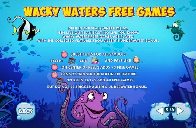 Wacky Waters Free Games - Rukes and how to play.