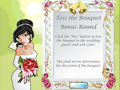 Casino Royal Club featuring the Video Slots Wacky Wedding with a maximum payout of $3,750