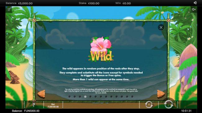 Wai Kiki :: Wild Symbol Rules
