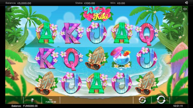 Wai Kiki :: Main Game Board