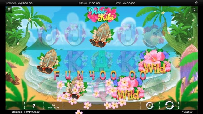 Wai Kiki :: Multiple winning paylines
