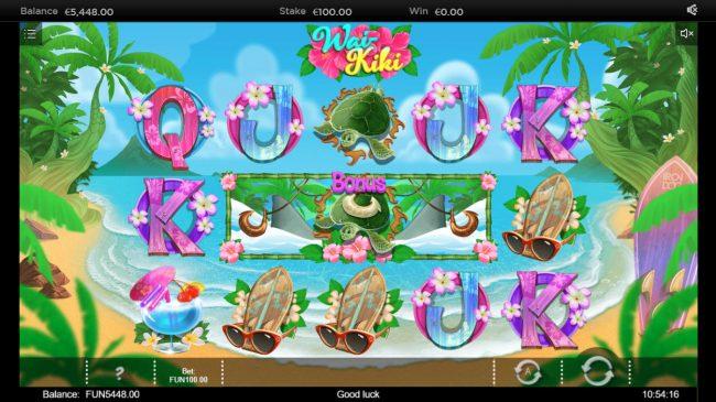 Wai Kiki :: Bonus feature triggered