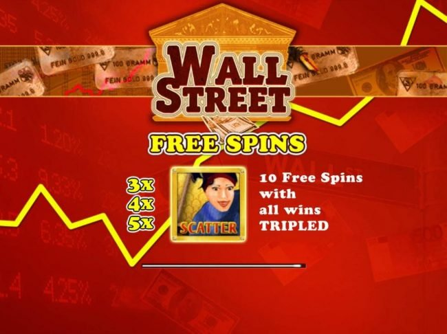 Play slots at Win Monaco: Win Monaco featuring the Video Slots Wall Street with a maximum payout of $500,000