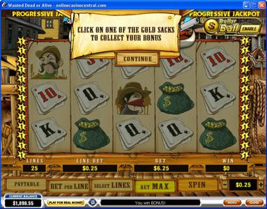 Grand Reef featuring the video-Slots Wanted Dead or Alive with a maximum payout of $500,000