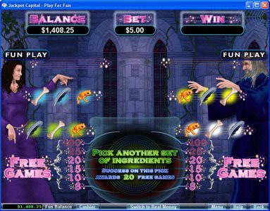 Slot Planet featuring the Video Slots Warlock's Spell with a maximum payout of 10000x
