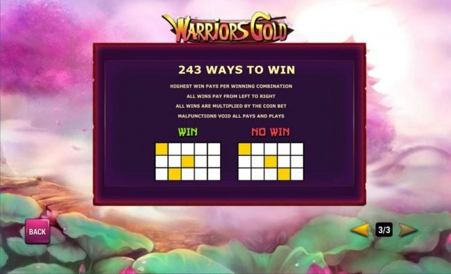 243 Ways to Win Rules