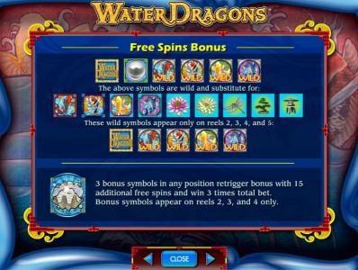 free spins bonus rules