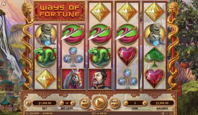 Boaboa featuring the Video Slots Ways of Fortune with a maximum payout of $25,000