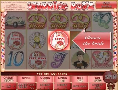 Astralbet featuring the Video Slots Wedding Dayz with a maximum payout of $30,000