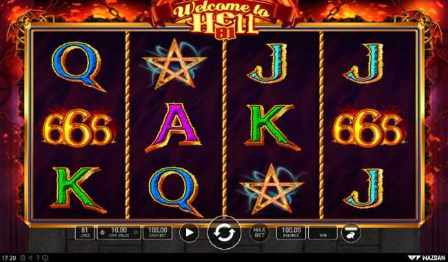 Play slots at Napoli: Napoli featuring the Video Slots Welcome to Hell 81 with a maximum payout of $20,000