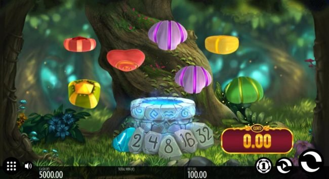 Well of Wonders :: A fairy fantasy themed main game board featuring five reels and 1 payline with a $228,000 max payout