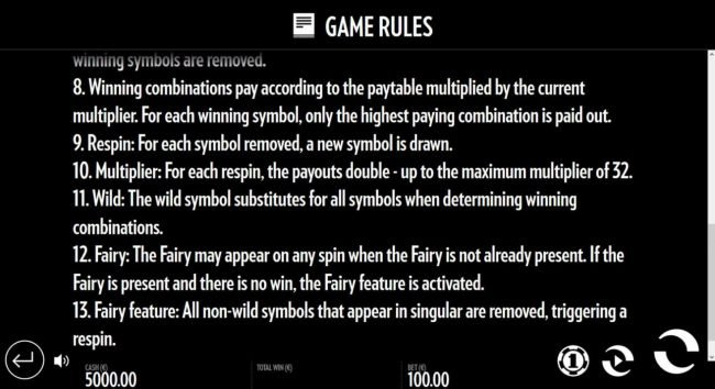 Well of Wonders :: General Game Rules - continued