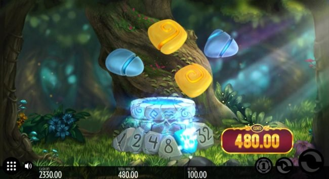 Well of Wonders :: Fairy removes all singular symbols and increases the multiplier by one followed by a respin.