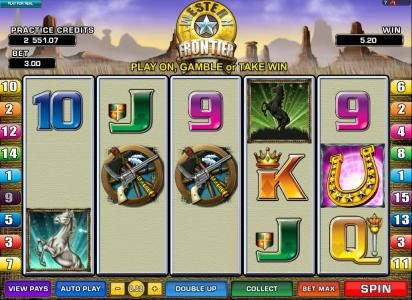 Tivoli featuring the Video Slots Western Frontier with a maximum payout of $7,500