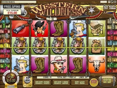 Play slots at Golden Lion: Golden Lion featuring the Video Slots Western Wildness with a maximum payout of $5,000