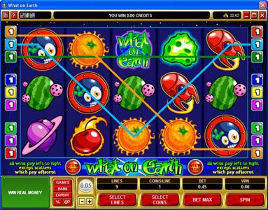 Casino 440 featuring the Video Slots What on Earth with a maximum payout of $37,500