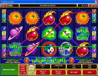 Bonanza featuring the Video Slots What on Earth with a maximum payout of $37,500