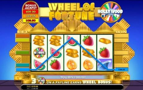 Lucky Me Slots featuring the Video Slots Wheel of Fortune Hollywood Edition with a maximum payout of $250,000