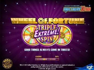 Play slots at Ladbrokes: Ladbrokes featuring the Video Slots Wheel of Fortune Triple Extreme Spin with a maximum payout of $250,000