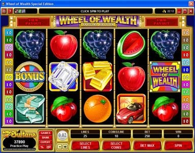 Play slots at Coral: Coral featuring the Video Slots Wheel of Wealth Special Edition with a maximum payout of $50,000