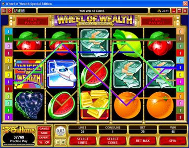 Boaboa featuring the Video Slots Wheel of Wealth Special Edition with a maximum payout of $50,000