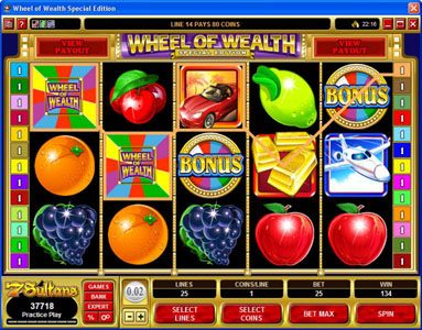 Play slots at House of Jack: House of Jack featuring the Video Slots Wheel of Wealth Special Edition with a maximum payout of $50,000