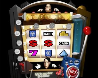 Play slots at Slotland: Slotland featuring the Video Slots Wheeler Dealer with a maximum payout of $4,000