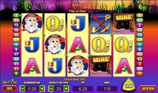 Where's The Gold :: 118 coin jackpot win