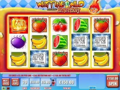 Play slots at Norske Casino: Norske Casino featuring the Video Slots Whipping Wild with a maximum payout of $250,000