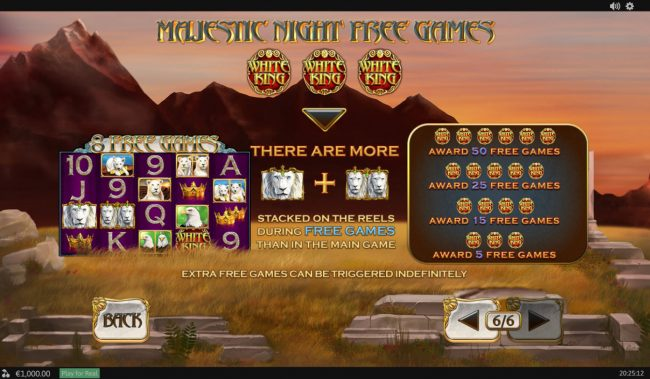 AC Casino featuring the Video Slots White King II with a maximum payout of $200,000