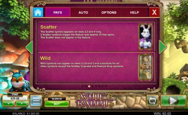 White Rabbit :: Caterpillar and Bonus Wild Rules