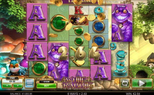 White Rabbit :: Multiple winning combinations