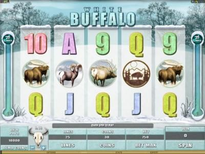 Play slots at Thrills: Thrills featuring the Video Slots White Buffalo with a maximum payout of $6,000