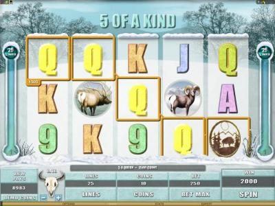Euro Palace featuring the Video Slots White Buffalo with a maximum payout of $6,000
