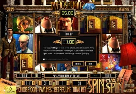 House of Jack featuring the Video Slots Who Spun It? with a maximum payout of $25,000