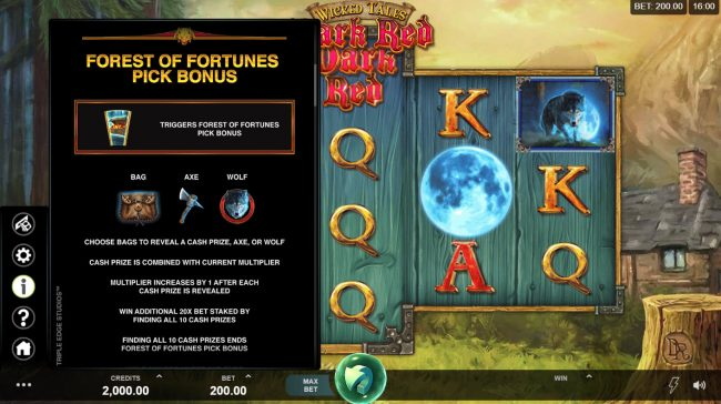 Play slots at PropaWin: PropaWin featuring the Video Slots Wicked Tales Dark Red with a maximum payout of $100,000