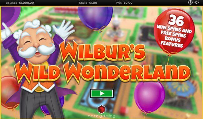 Wilbur's Wild Wonderland :: Introduction