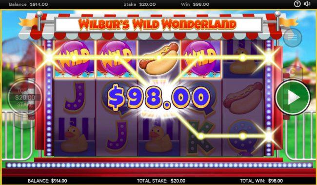 Wilbur's Wild Wonderland :: A winning four of a kind