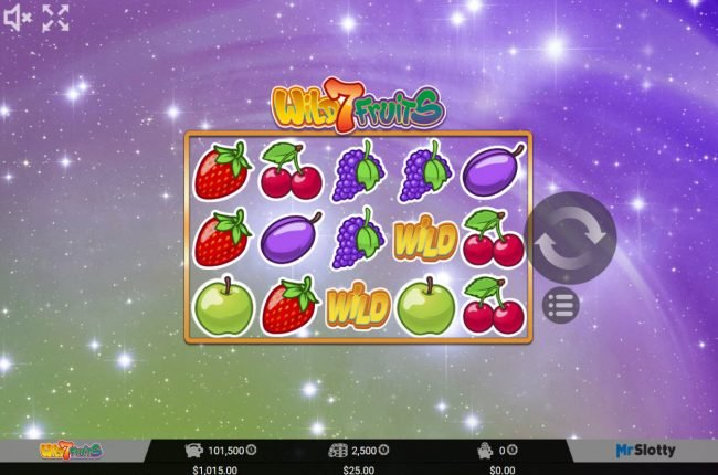 Play slots at Casino Marriott: Casino Marriott featuring the Video Slots Wild 7 Fruits with a maximum payout of $50,000