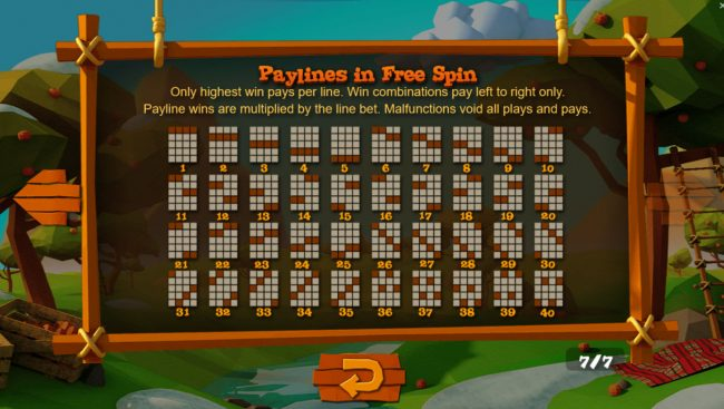 Wild Cherry :: Free Spins - Paylines 1-40